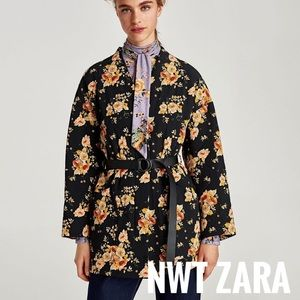 💋SALE. NWT Zara quilted coat